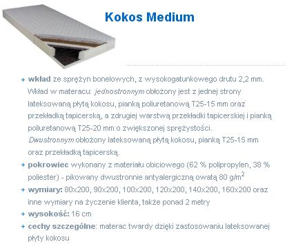 kokos medium